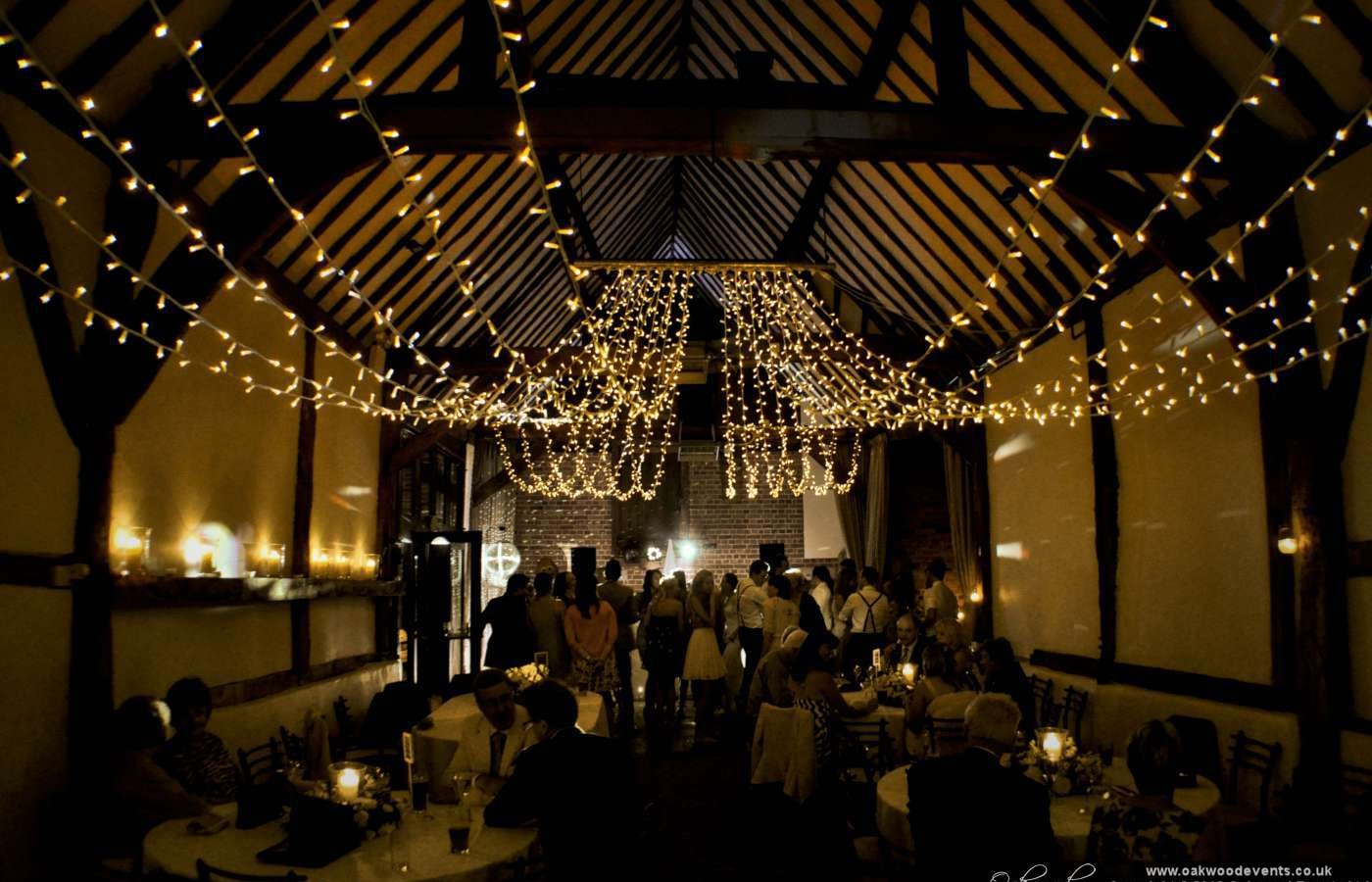 42 times christmas lights made the best wedding decor for Wedding video lighting